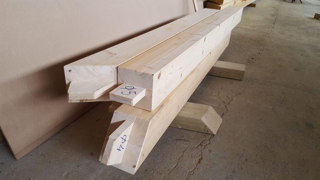 Дървени строителни елементи